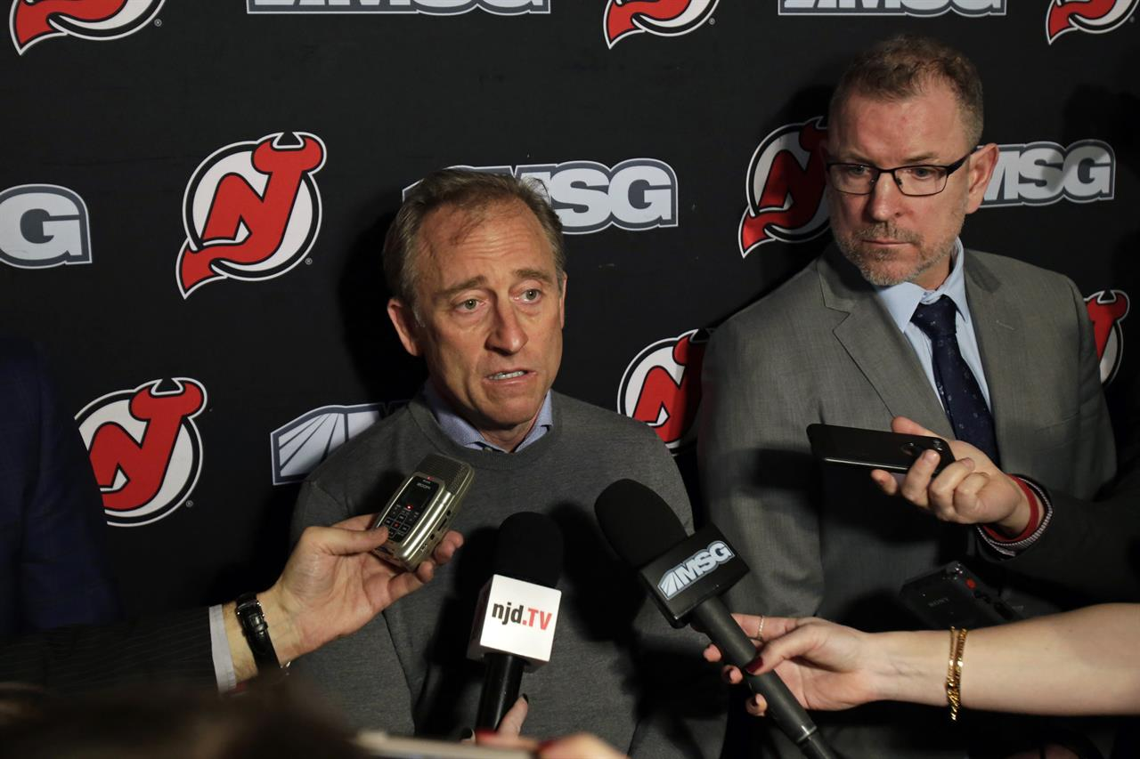 Ray Shero is out as New Jersey Devils' general manager