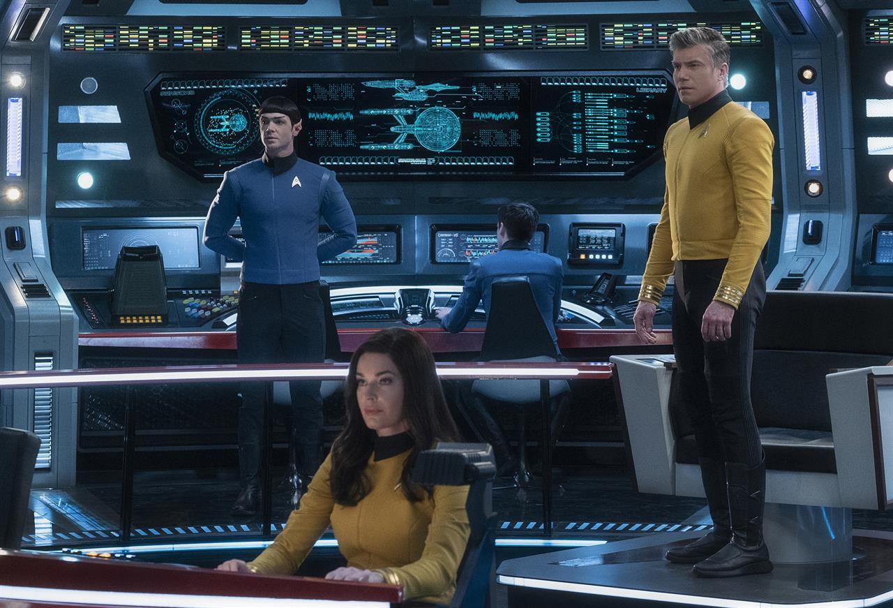 CBS orders a third 'Star Trek' series with Spock onboard