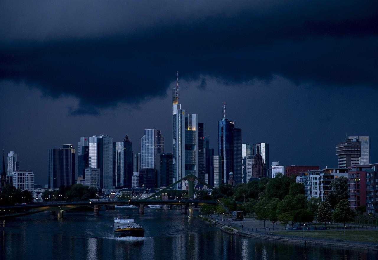 German activity picks up, can't escape official recession