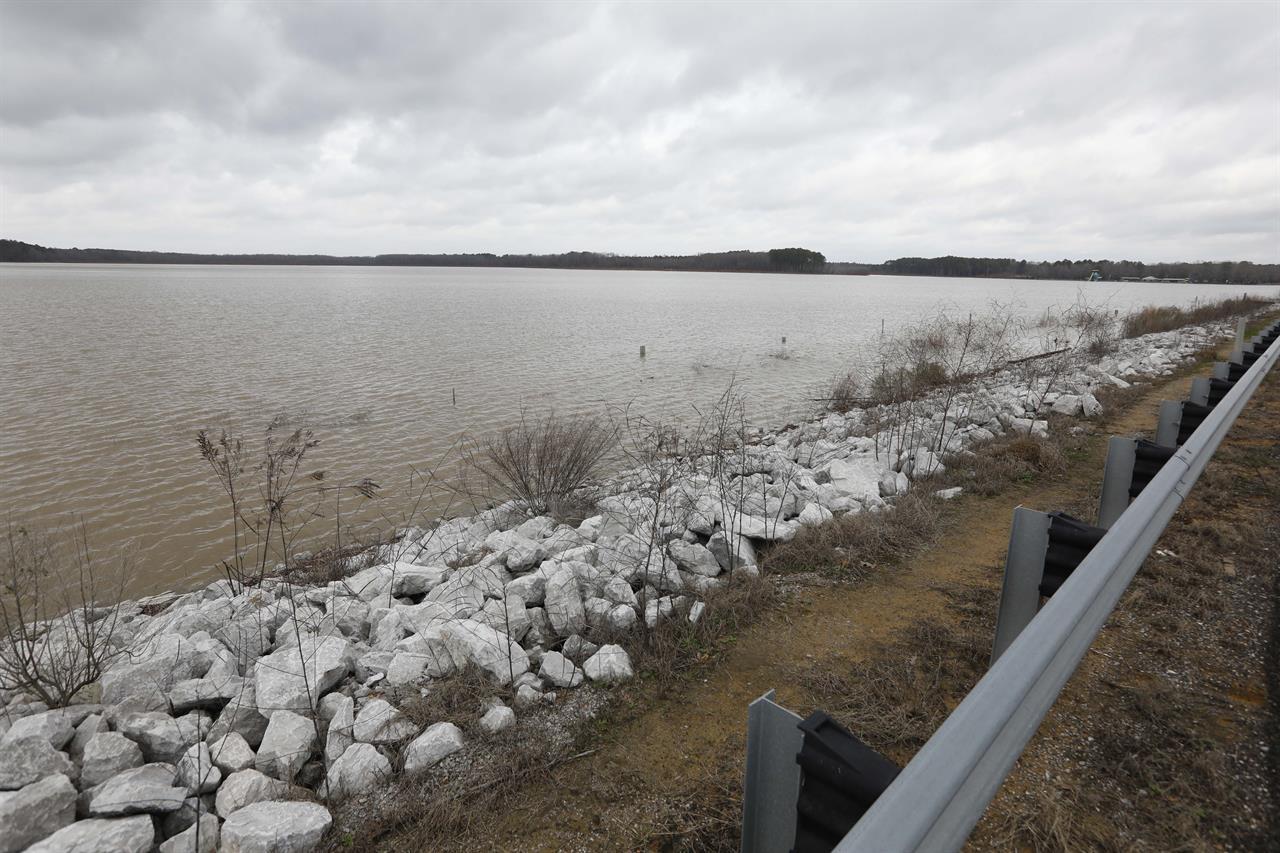 Pressure building on rural north Mississippi dam