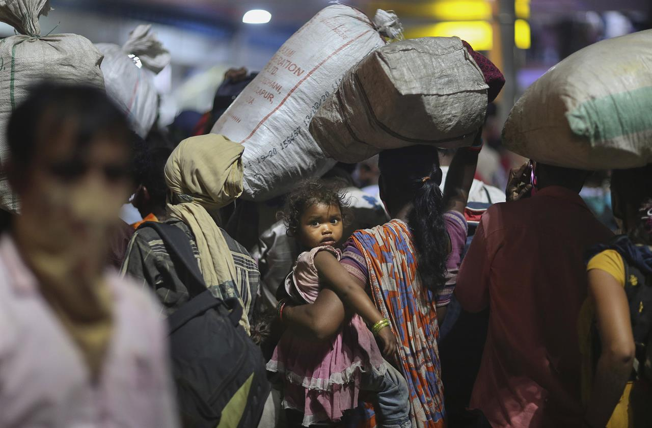 Indian authorities probe deaths of migrant workers on trains