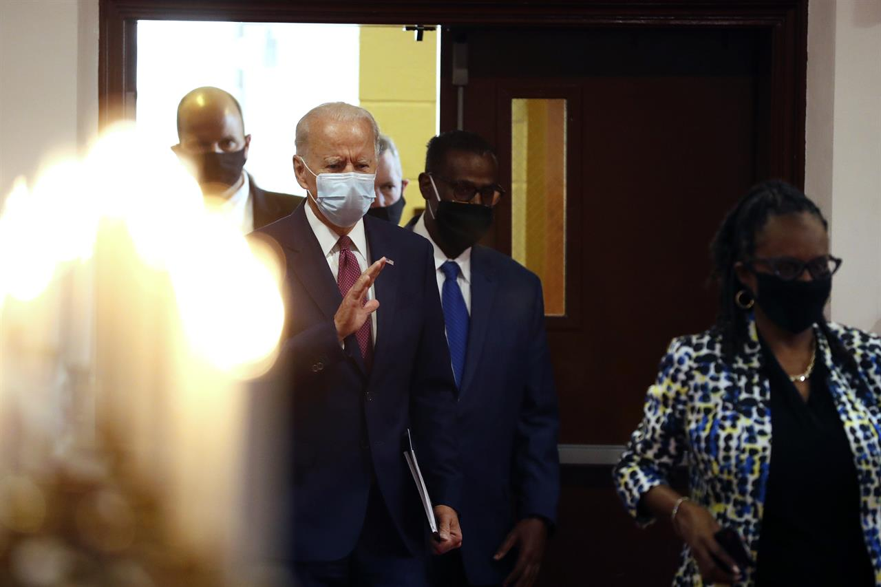 'Hate just hides': Biden vows to take on systematic racism