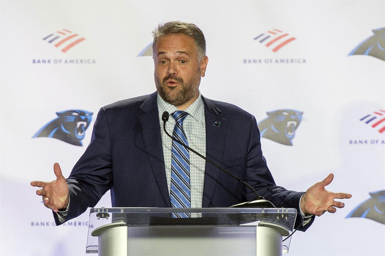 Rhule's transition from Baylor to NFL anything but normal