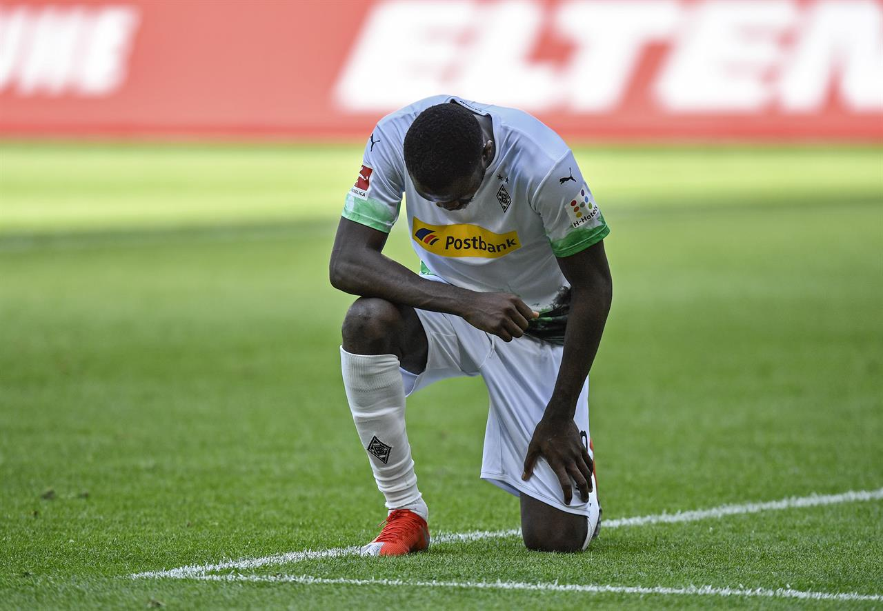 Germany won't punish players for George Floyd protests