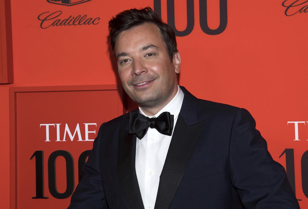 Jimmy Fallon, 'Tonight' show return to studio, sans audience
