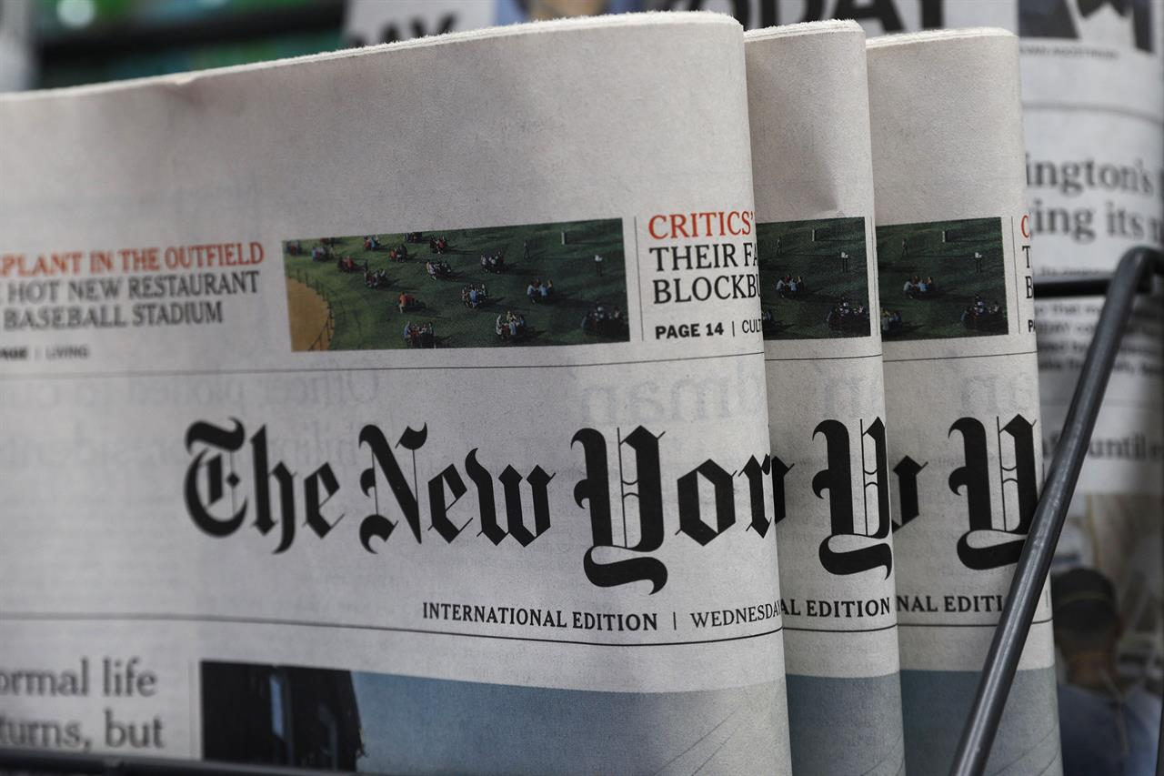 NY Times to move some staff from Hong Kong, citing new law