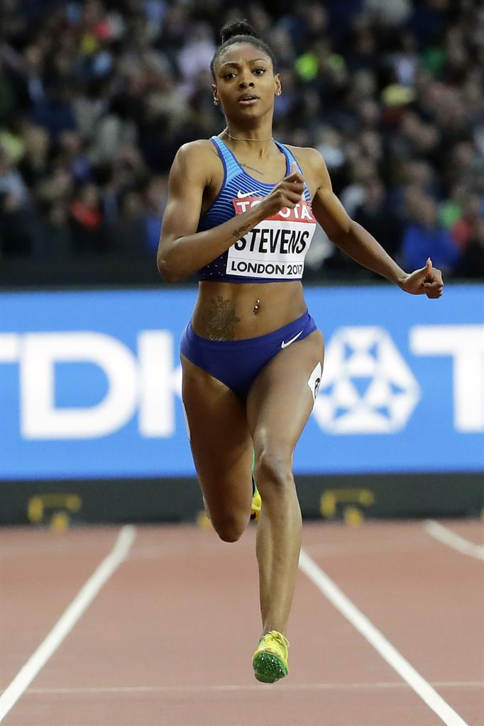 American sprinter Stevens banned 18 months for missed tests
