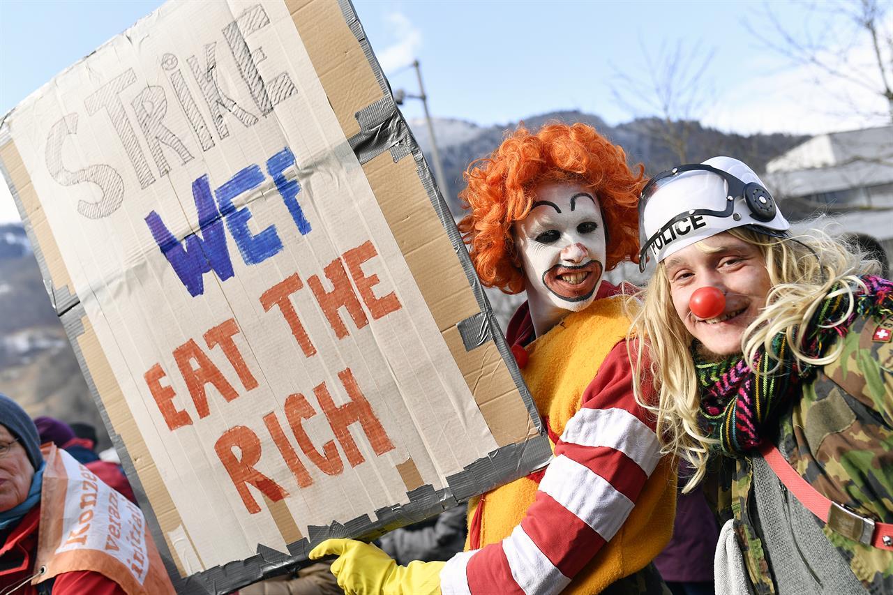 Rising inequality eroding trust in capitalism - survey