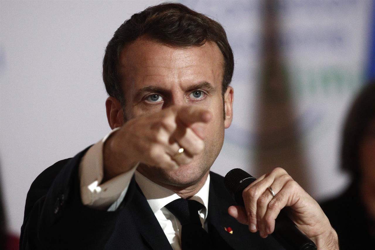 France's Macron tells global CEOs: we're open for business