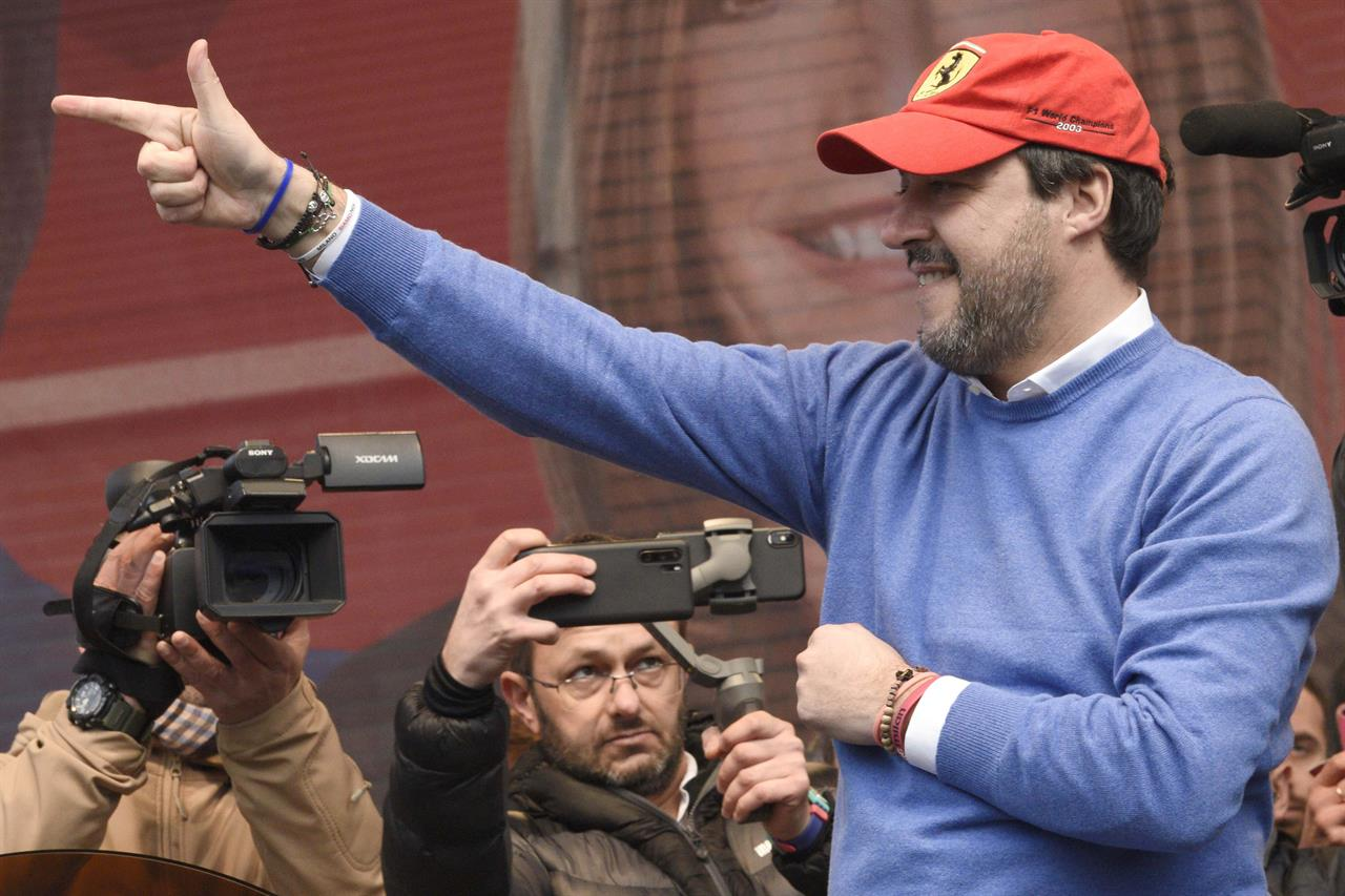Italy's Salvini asks for trial, his party's lawmakers oblige