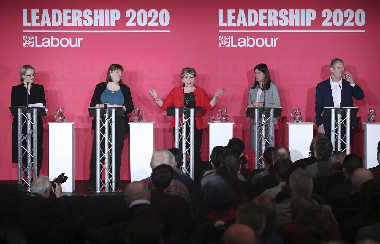 UK Labour contest down to 4 contenders after Phillips quits