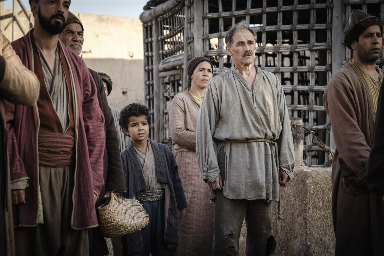 Review: A superb Rylance lifts up languorous 'Barbarians'