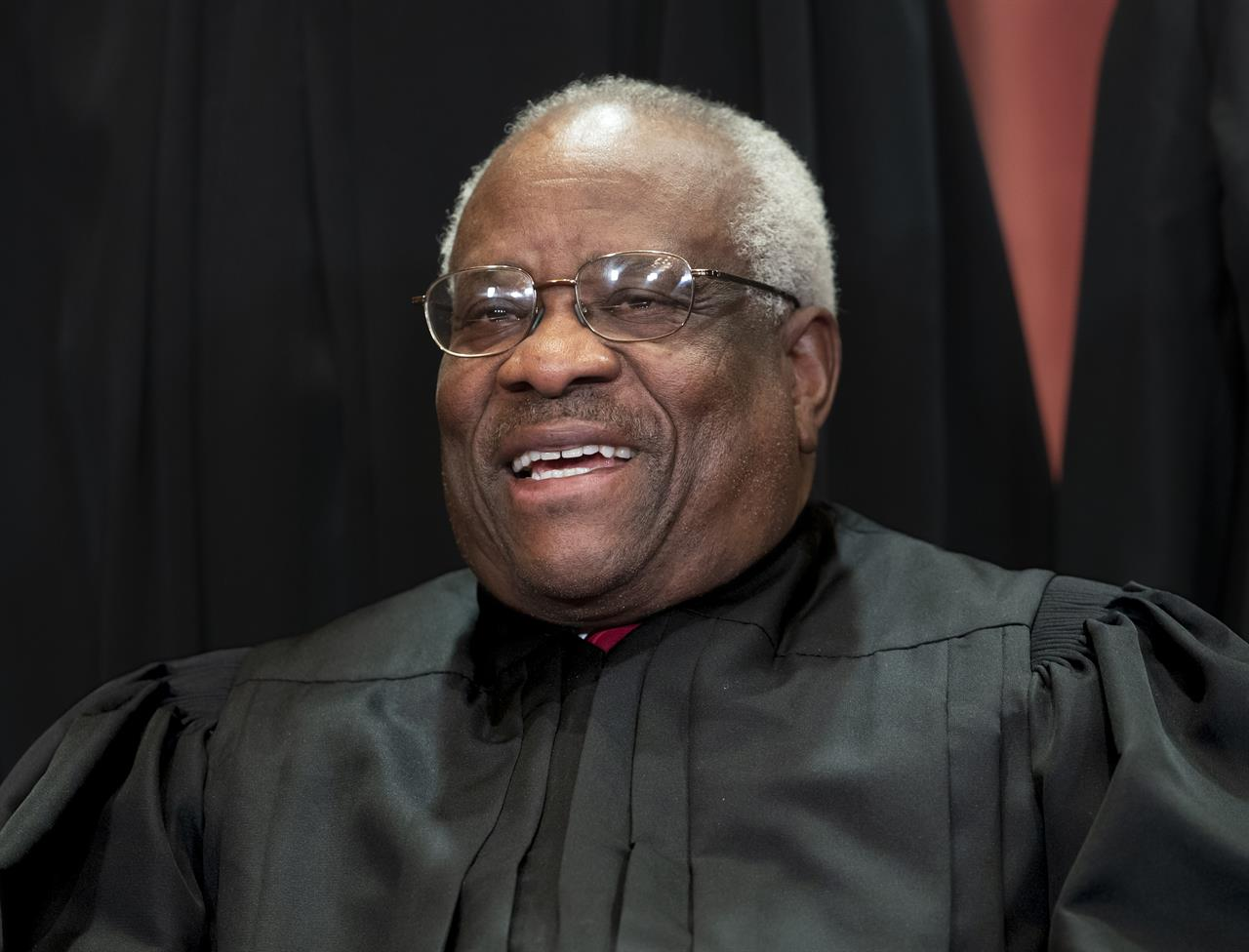 Justice Thomas maps own course, at wheel of his 40-foot bus