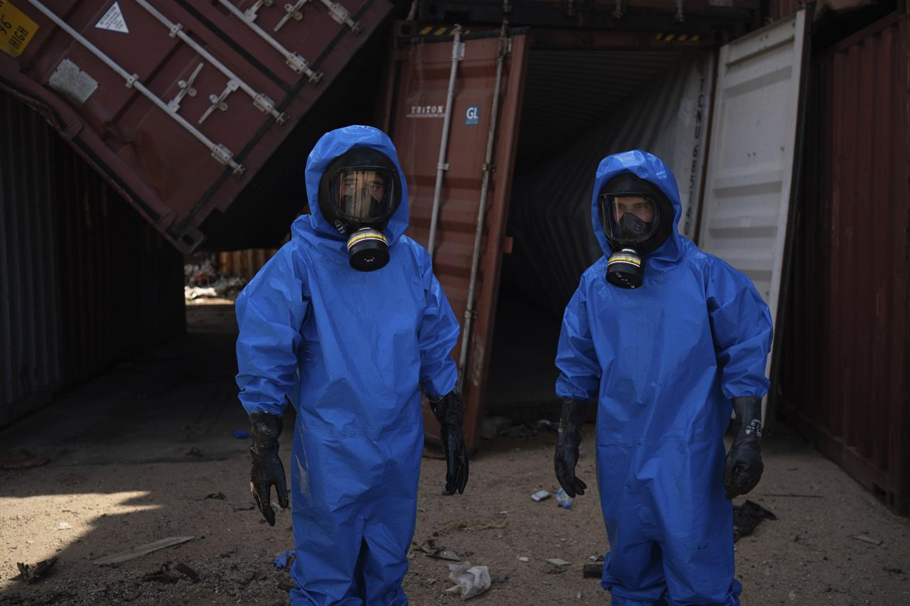 French expert: Dangerous chemicals remain in Beirut port