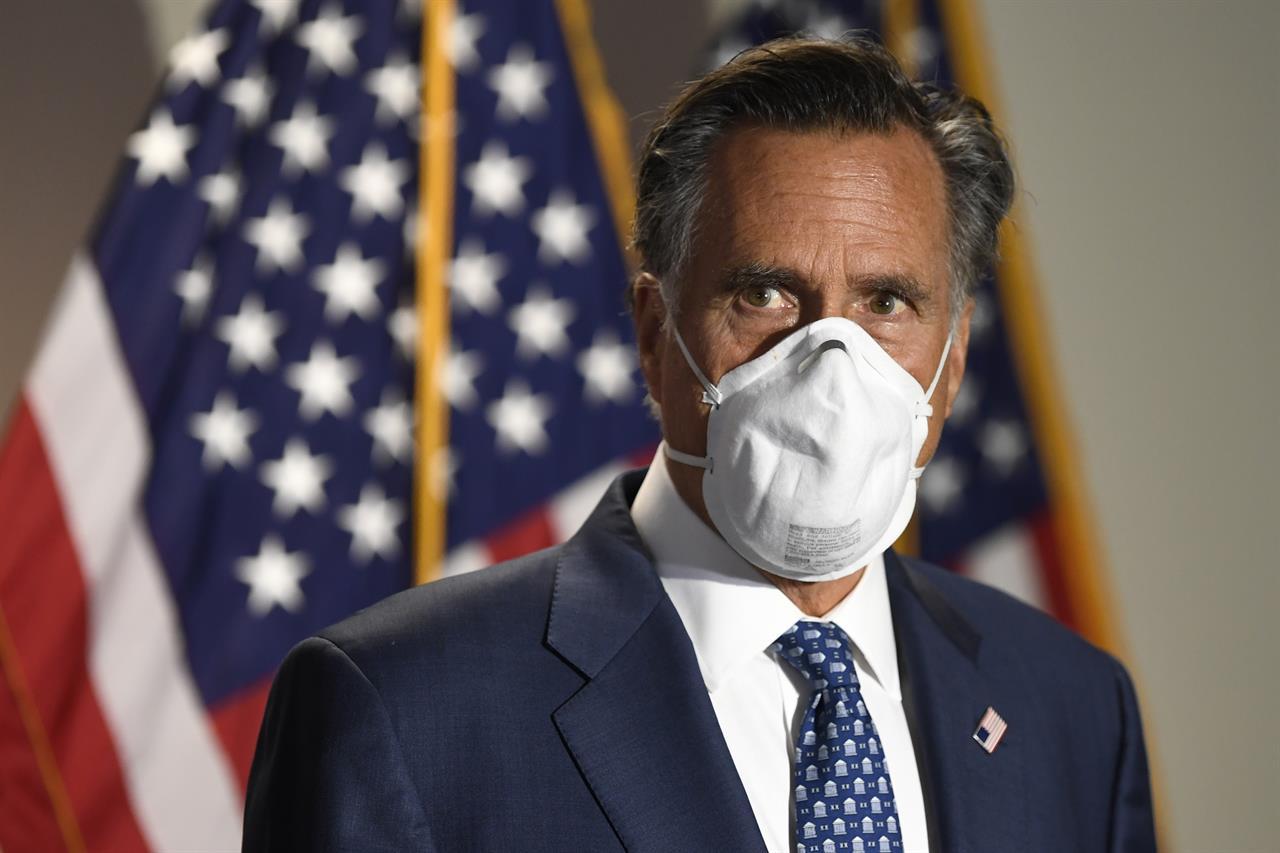 Mitt Romney slams politicians attacking mail-in voting