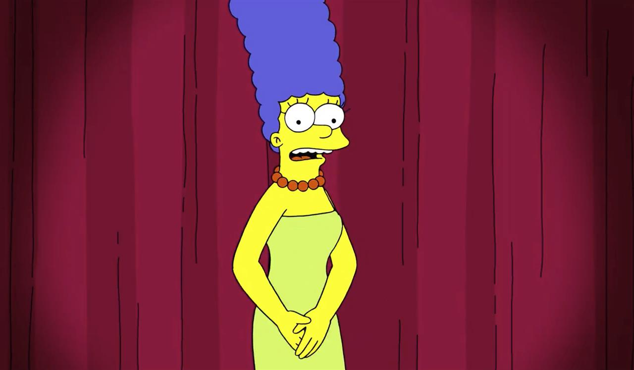 Marge Simpson uses her voice to call out Trump adviser