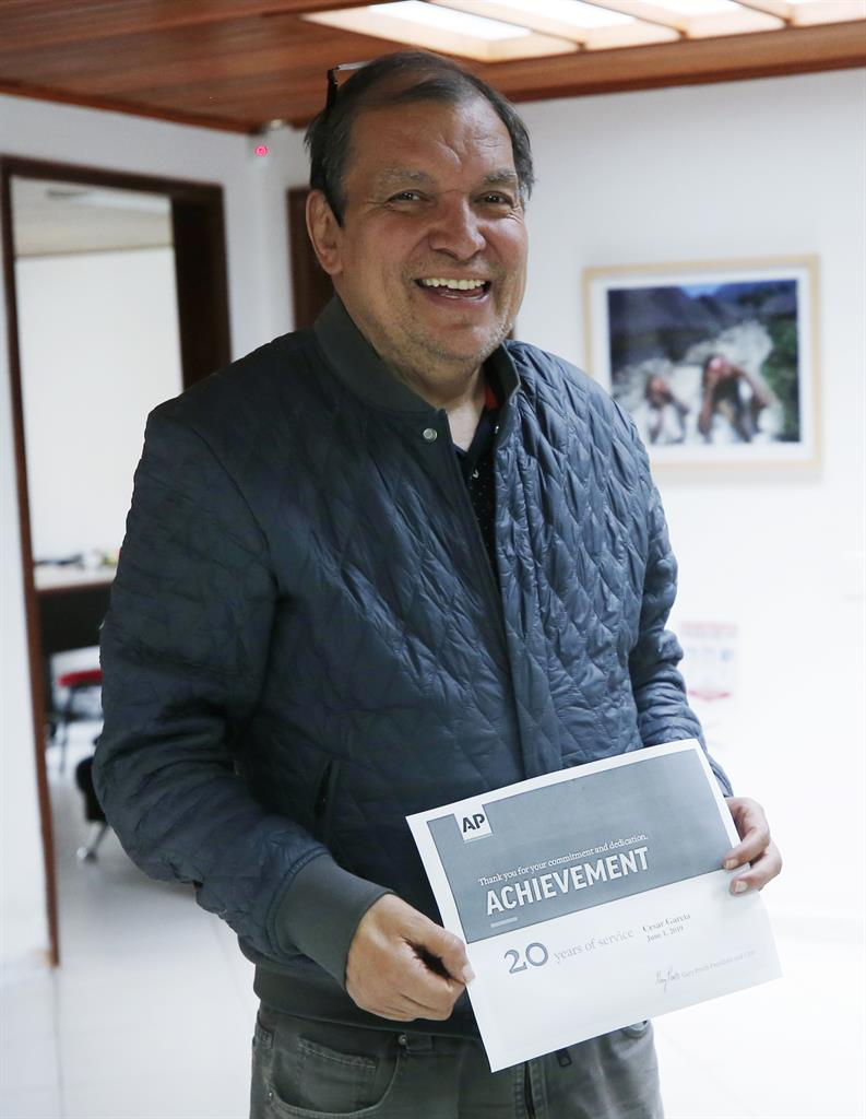 César García, AP Colombia reporter, dies after illness at 61
