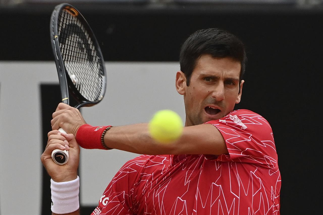 Djokovic Wins Rome Title I Moved On After Us Open Default Am 1070 The Answer Houston Tx