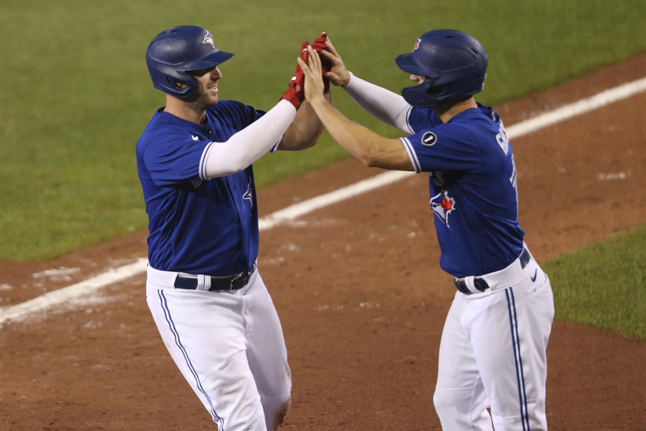 Grichuk, Shaw homer, Pearson returns as Blue Jays beat O's