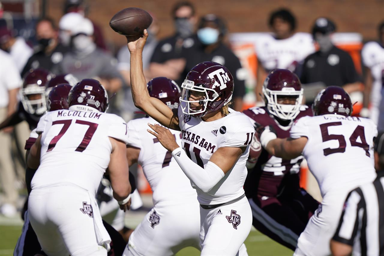 No. 11 Texas A&M beats Mississippi State 28-14