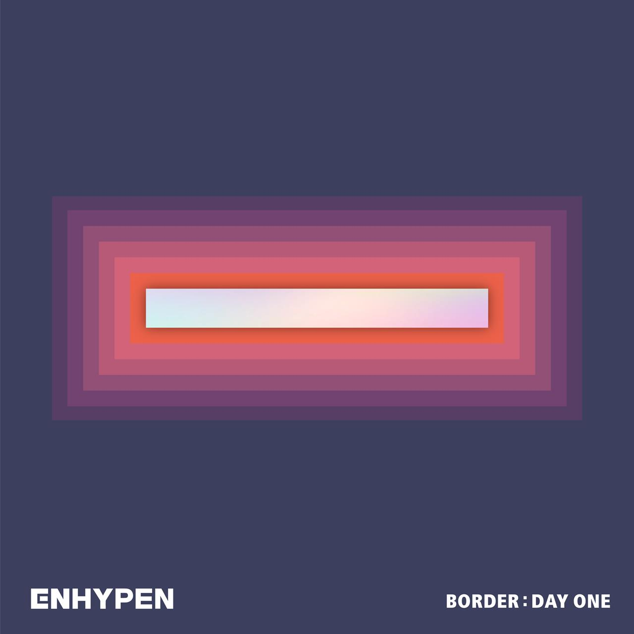 """This cover image released by Belift Lab shows """"Border: Day One"""" by ENHYPEN. (Belift Lab via AP)"""