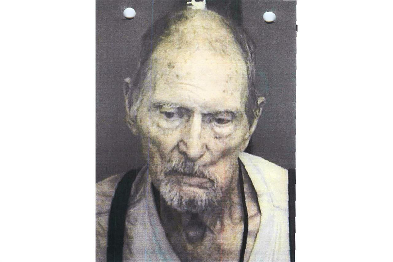 """This October, 2019 booking photo from the Custer County Sheriff's Office shows Walter James Mason. Forty years ago, Brett Woolley's father Dan Woolley was shot in the parking lot of a small town bar deep in the Idaho mountains. Then the shooter crossed the street to the only other bar in town, ordered a drink, declared, """"I just killed a man,"""" and disappeared into the night. As days turned into years, Woolley accepted the likelihood that his father's murderer would never be found. But all that changed last fall when authorities arrested a former pro rodeo rider named Walter Mason in a small Texas village. (Custer County Sheriff's Office via AP)"""