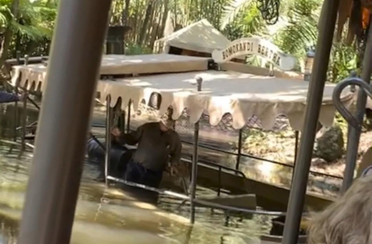 Guests evacuated after boat at Disney World takes on water