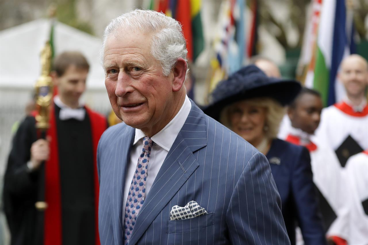 Britain's Prince Charles tests positive for the coronavirus