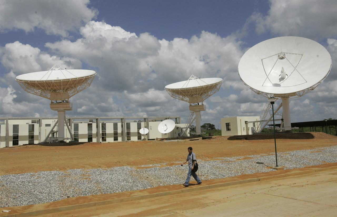 Venezuela's only telecoms satellite is lost in space