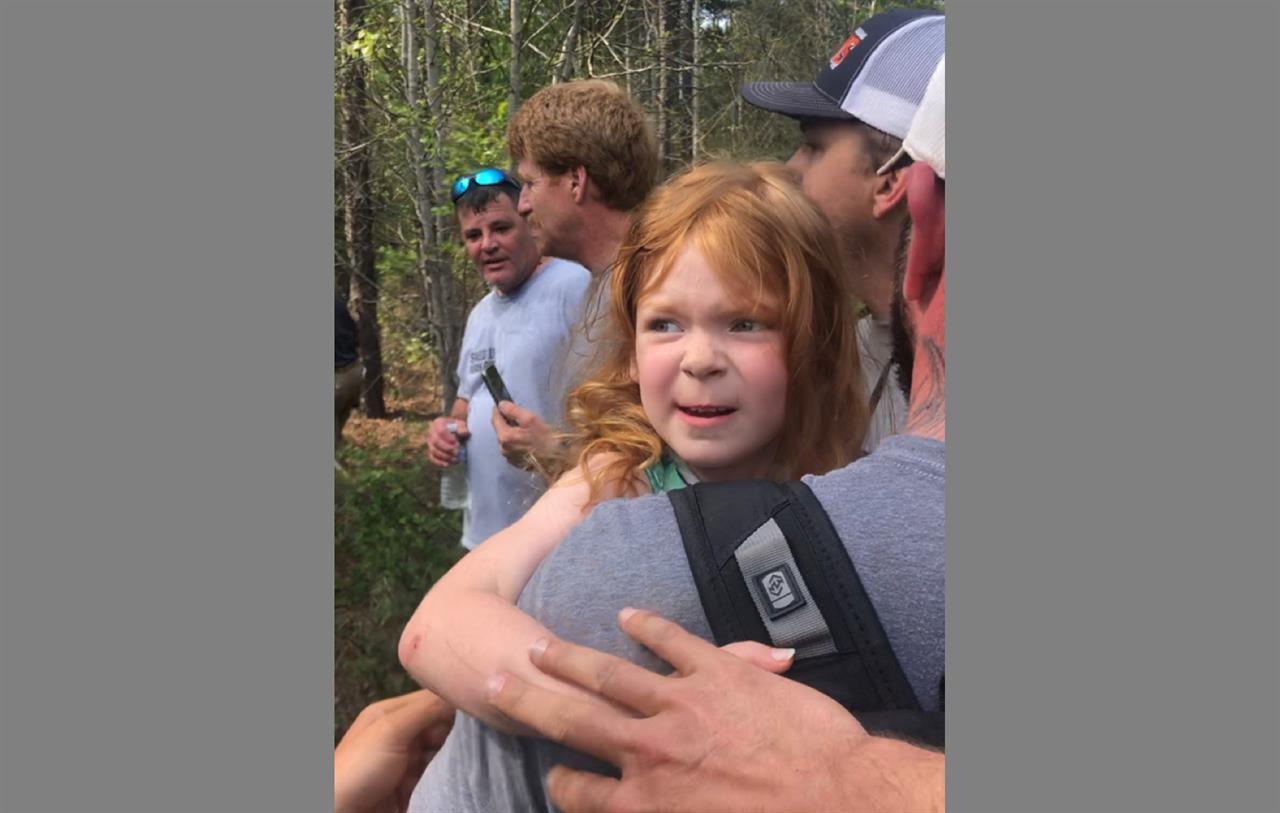 Sheriff: Girl, 4, found in woods; had been missing 2 days