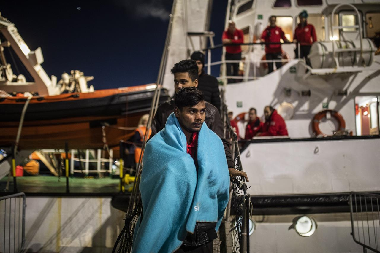 EU launches new naval mission to police Libya arms embargo