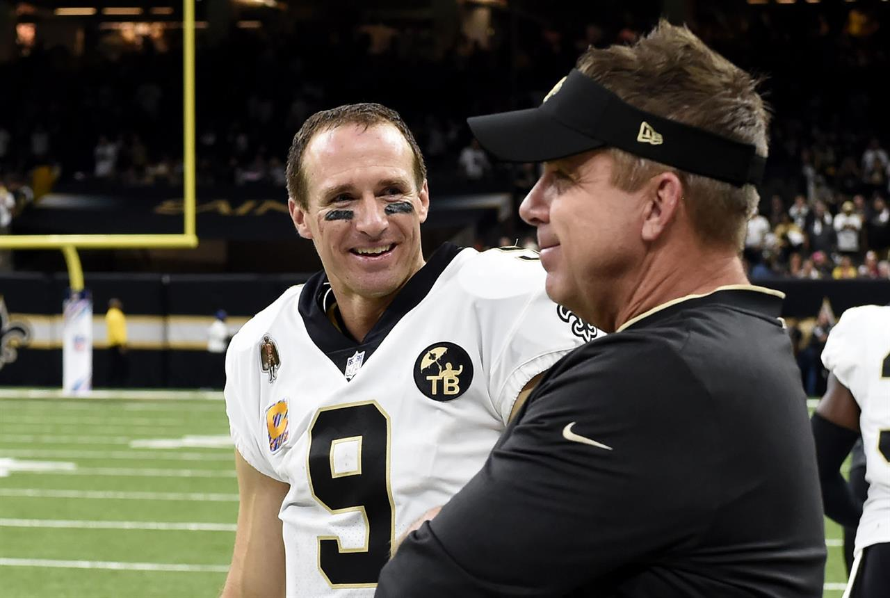 Payton back at work, unsure if Brees plays beyond 2020