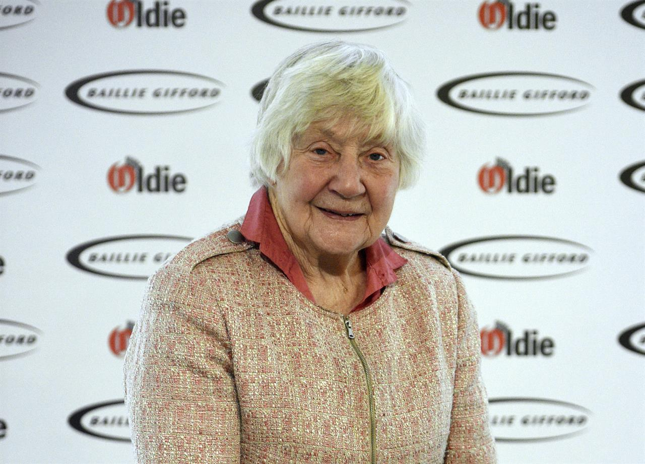 "FILE - In this file photo dated Jan. 30, 2018, Shirley Williams attending The Oldie of the Year Awards, at Simpsons in the Strand, central London.  The trailblazing female lawmaker Shirley Williams who tried to reshape a British political system dominated by two big parties, ""died peacefully in the early hours of Monday"" aged 90, according to information released by her Liberal Democrats party. (Kirsty O'Connor/PA via AP)"