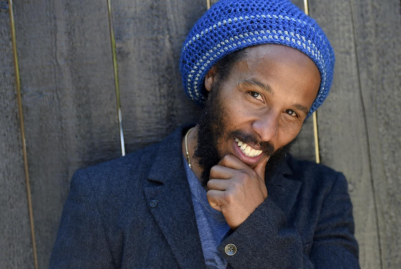FILE - Musician Ziggy Marley poses for a portrait in Los Angeles on May 2, 2016. The son of reggae icon Bob Marley and Rita Marley will perform at Nat Geo's Earth Day Eve 2021 streaming concert on Wednesday. (Photo by Chris Pizzello/Invision/AP, File)