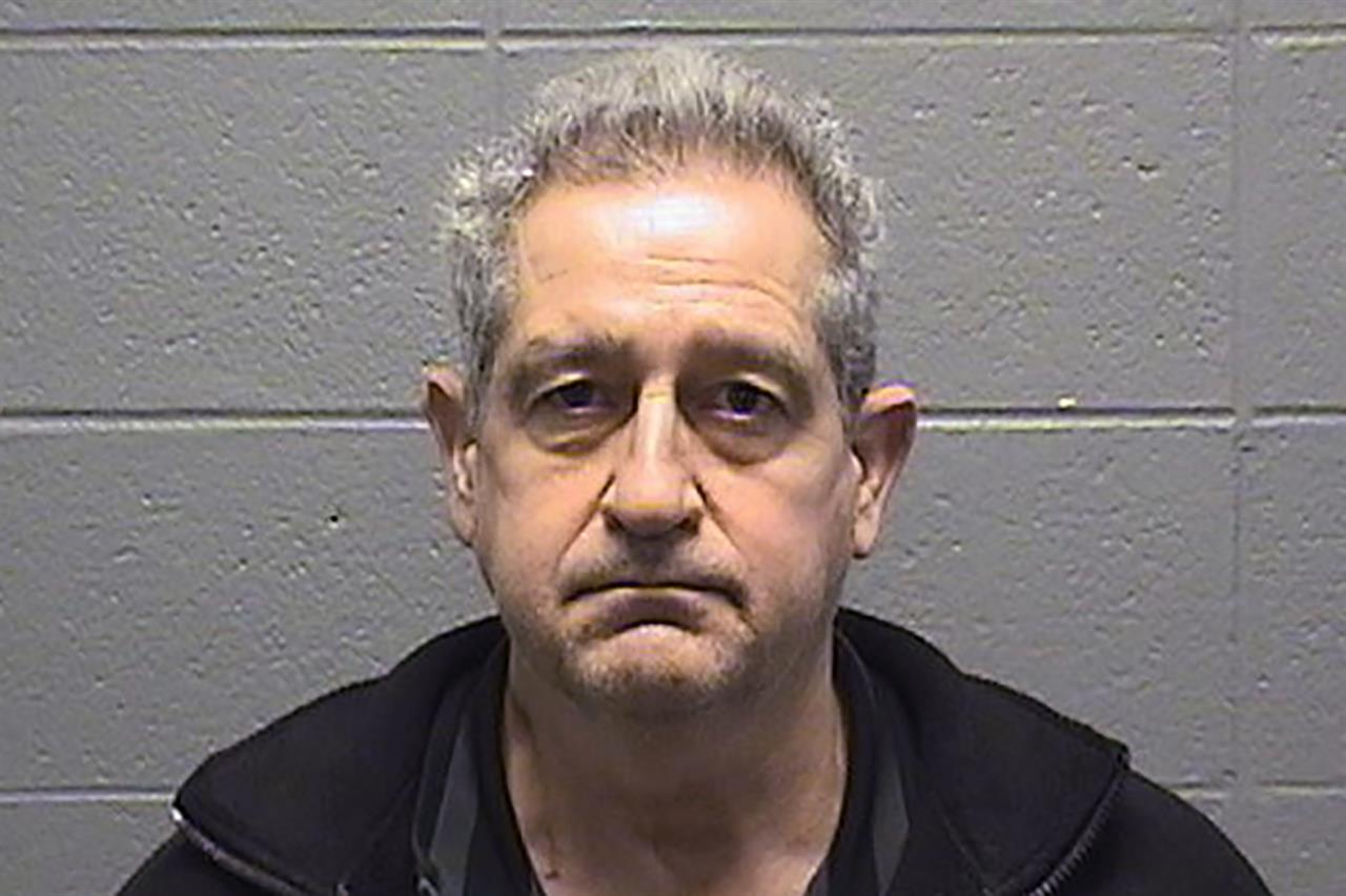 This undated photo provided by the Cook County Sheriff's Office shows David Pasulka. Pasulka a prominent Chicago family law attorney who was charged last summer with sexually assaulting a colleague has been charged with doing the same thing to two other women. Prosecutors outlined the new charges of of sexual assault, aggravated sex assault and criminal sexual abuse against Pasulka during a court hearing Wednesday, Jan. 20, 2021. (Cook County Sheriff's Office via AP)